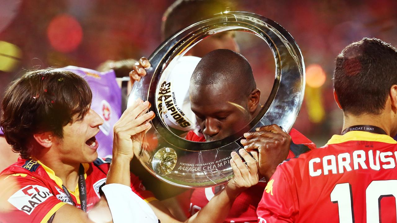 Djite won the A-League championship with Adelaide United in 2016.