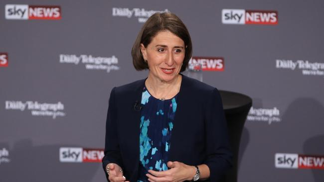 Gladys Berejiklian has emerged victorious at the end of the NSW People's Forum debate.