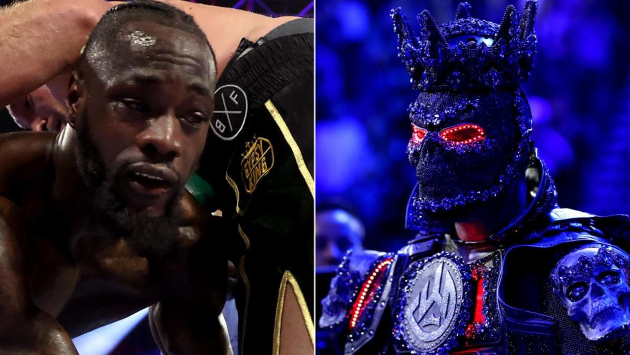 Deontay Wilder blames costume, corner, and referee for his defeat.