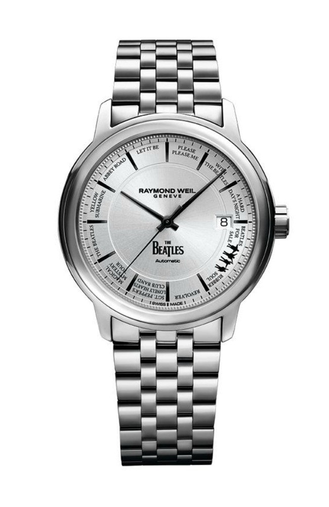 Time on their side: the limited edition Beatles watch from Swiss watchmaker, Raymond Weil