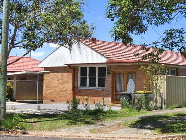 The Sydney home of former Rose Tattoo drummer, Paul De Marco, from which he tried to sell guns.