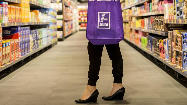 Aldi is succeeding despite it's product range being many times smaller than the major supermarkets.