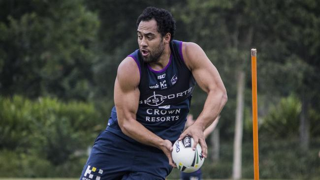 Sam Kasiano recently joined Catalans from Melbourne. Picture: Jonathan Demos