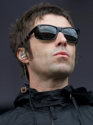 Former Oasis singer Liam Gallagher was also on the bill of the evacuated festival. Picture: AFP