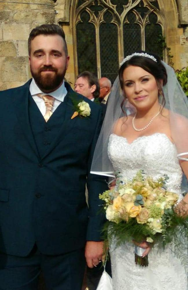 Zoe met builder James, 32, in January 2015, and he proposed eight months later.