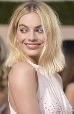 Margot Robbie arrives at the 24th annual Screen Actors Guild Awards at the Shrine Auditorium Expo Hall on Sunday, Jan. 21, 2018, in Los Angeles. Picture: Richard Shotwell/Invision/AP