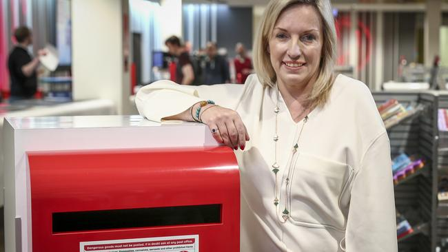 Australia Post CEO Christine Holgate has urged ANZ to think twice. Picture: Mike Burton/AAP