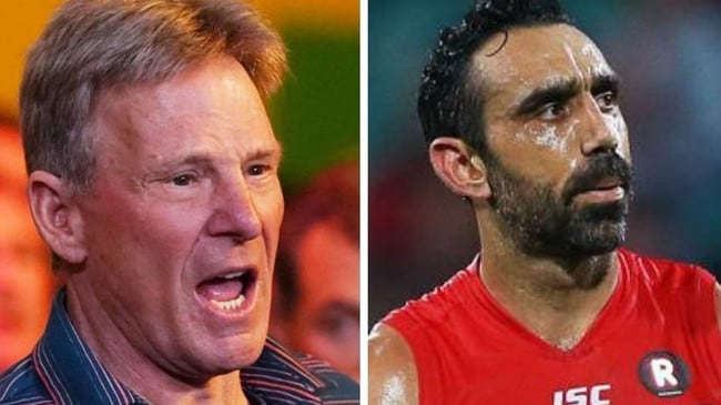 Sam Newman's bitter response to winning Adam Goodes painting – NEWS.com.au