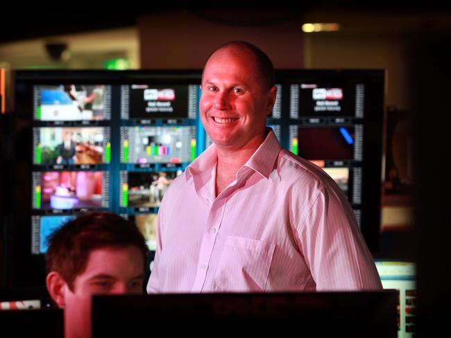 Channel 9 news boss Darren Wick insists he's not worried about Today's ratings.