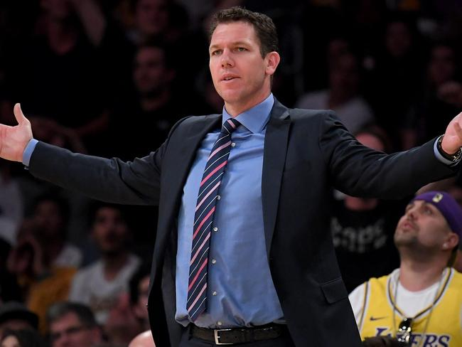 Luke Walton is gone.