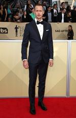Actor Alexander Skarsgard attends the 24th Annual Screen Actors Guild Awards at The Shrine Auditorium on January 21, 2018 in Los Angeles, California. Picture: Frederick M. Brown/Getty Images
