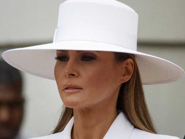 First lady Melania Trump. Picture: AP