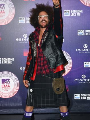 Redfoo attends the MTV EMA's 2014.