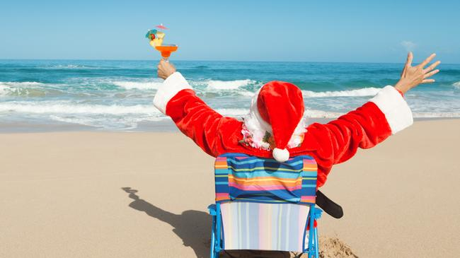 Join the crew at Mooloolaba Beach on the Sunshine Coast for a Christmas brekkie barbie. Picture: iStock