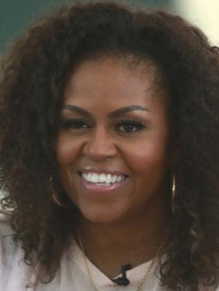 Former US first lady Michelle Obama. Picture: AP