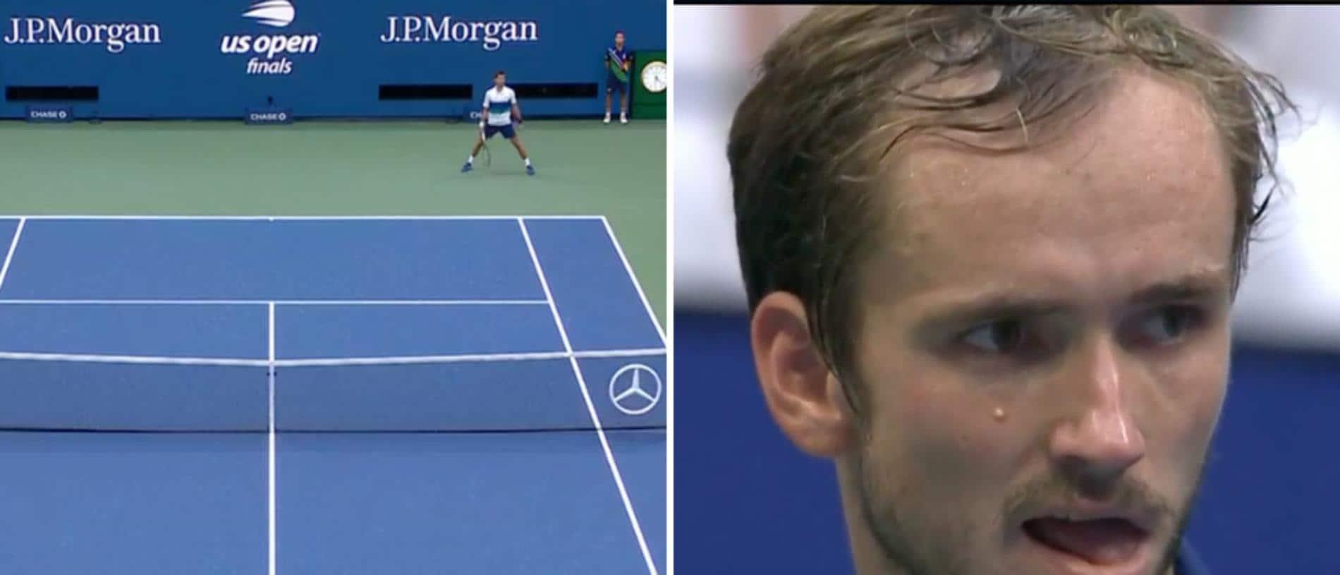 Daniil Medvedev is booed on match point.