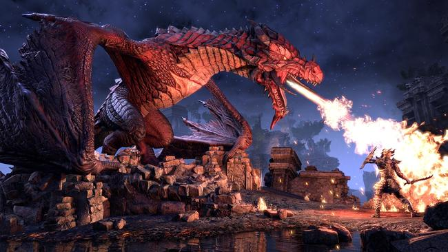 Do you want to fight a dragon? You can fight a dragon in Elsweyr, but you'll want to bring friends.