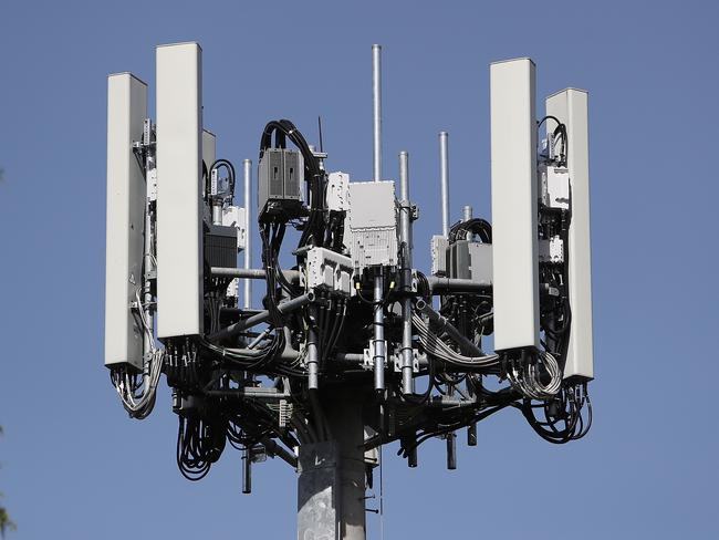 One of the first Optus 5G Towers in Australia.