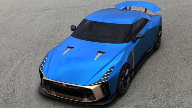 Nissan will build 50 examples of the GT-R50 by Italdesign.