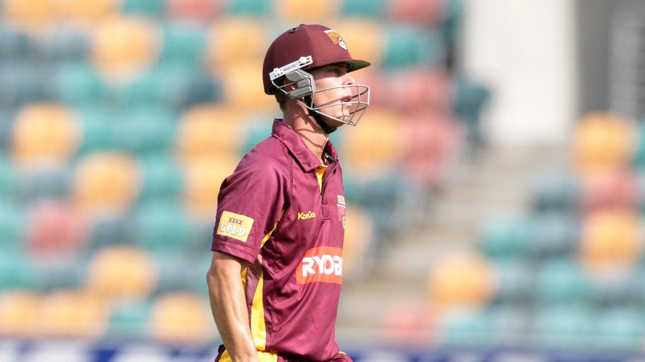 Chris Lynn fell for a duck on Sunday,