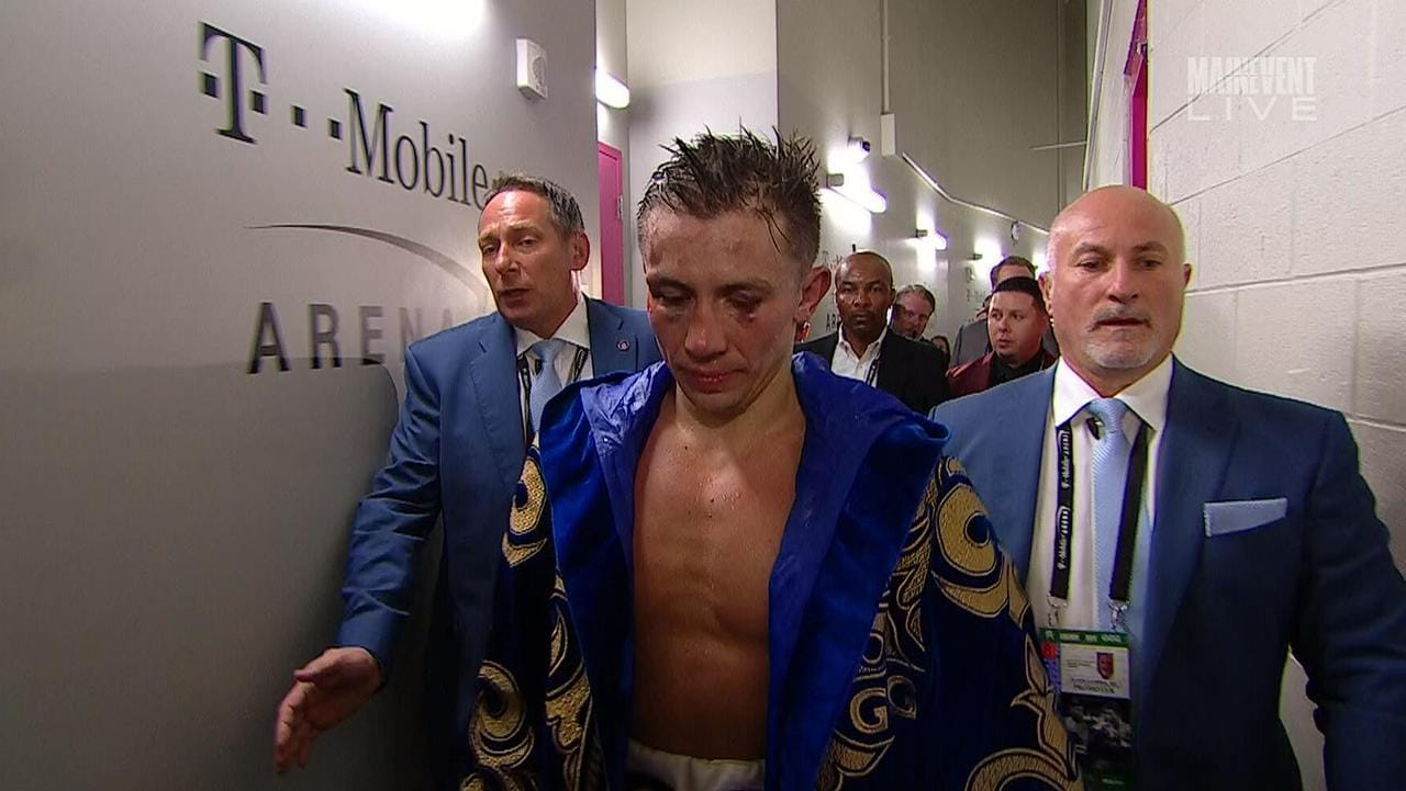GGG chose not to take part in a post-match interview.