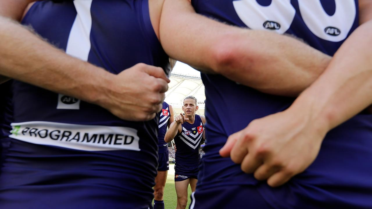 A Fremantle official has been accused of inappropriate behaviour. Photo: Will Russell/AFL Media/Getty Images