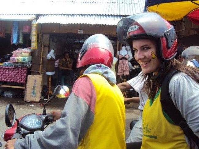 Woman in Padang
