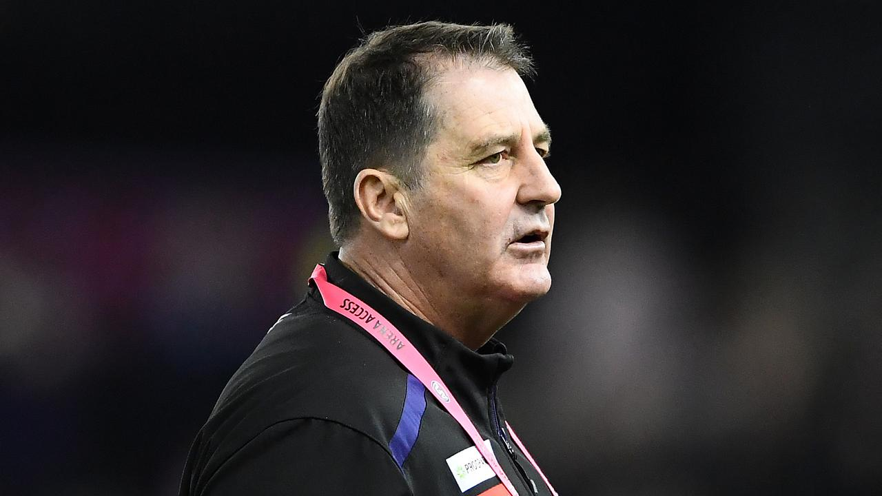Ross Lyon has been linked to the vacant North Melbourne coaching job (Photo by Quinn Rooney/Getty Images).