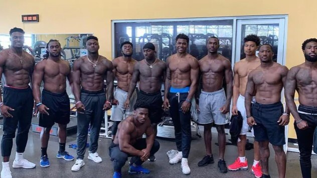Nfl 2020 Dk Metcalf Best Since Randy Moss Viral Meme Abs Seattle Seahawks Russell Wilson