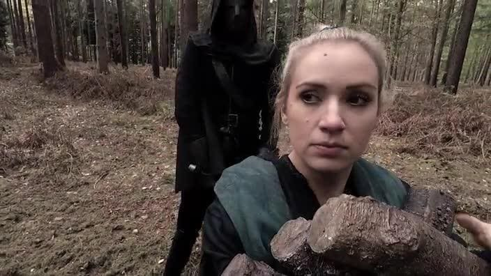 News.com.au's Bronte Coy stars in a scene from King Arthur