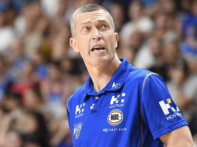 Brisbane Bullets coach Andrej Lemanis. Picture: Getty Images