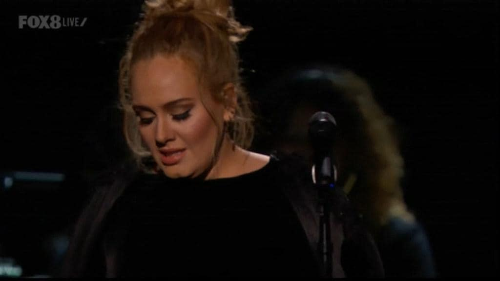 Adele stops Grammys tribute to George Michael: 'I need to start again . . . I f****d up'
