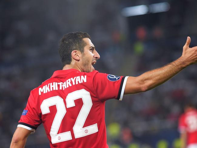 Henrikh Mkhitaryan has left United for Arsenal.