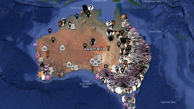 Interactive Map Of Australia.Aussie Farms Map Why People Are Blowing Up Over This Map