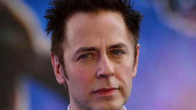 James Gunn was fired by Disney over old tweets. Picture: AFPSource:AFP