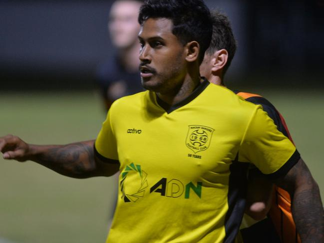 Former North Queensland Cowboy Ben Barba is now playing soccer.