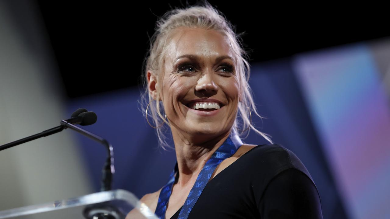 Erin Phillips polled 19 of a possible 21 votes.