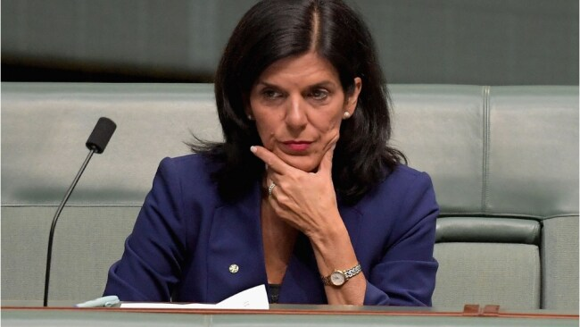 "Victorian Liberal Julia Banks resigned due to her party's ""anti-women"" culture. Image: Getty"
