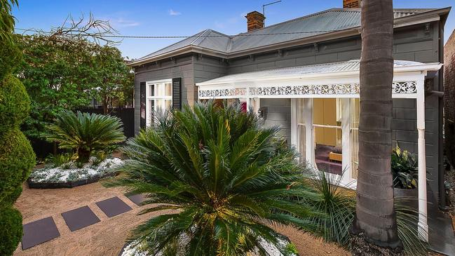 Interior designer Andrew Parr's stylish Prahran house is for sale.
