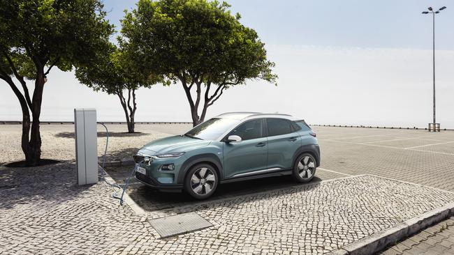 Photo of the new Hyundai Kona electric