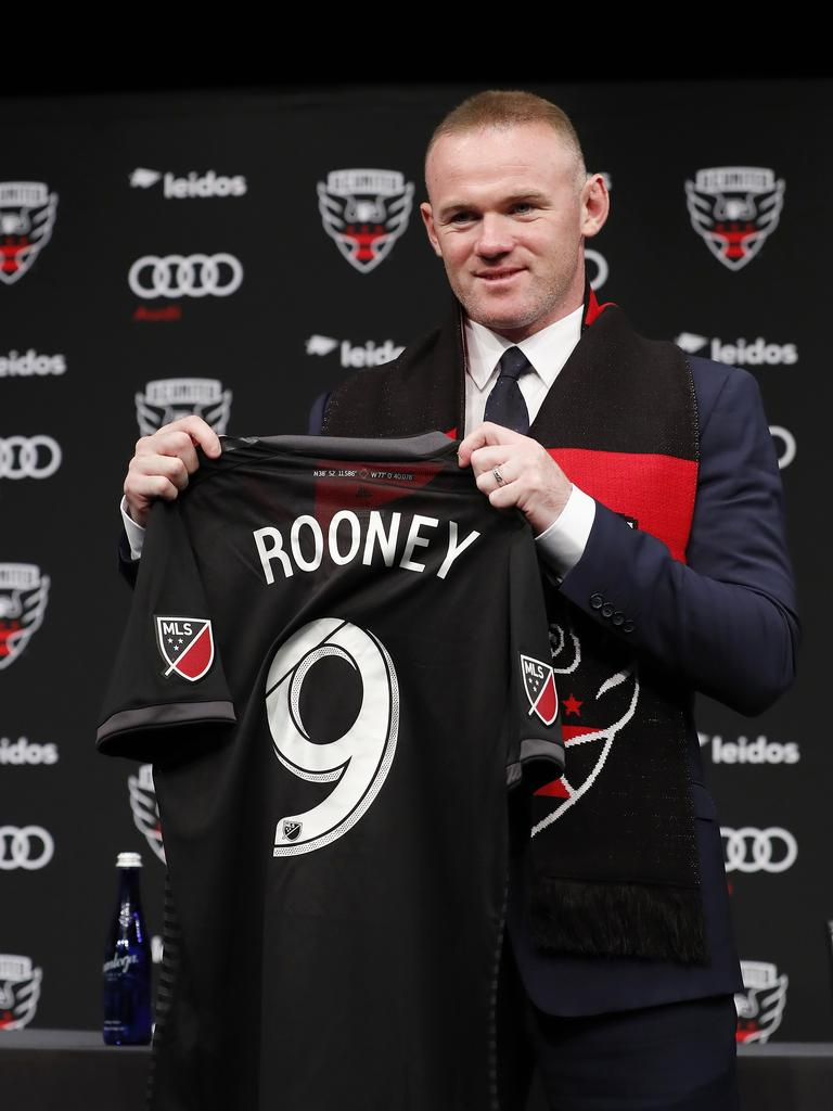 Wayne Rooney has left the Premier League to join MLS outfit DC United