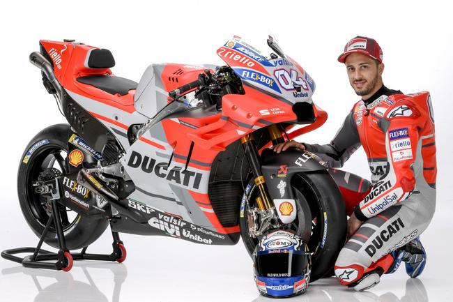 Ducati MotoGP Team season 2018 launch. Pic: Ducati