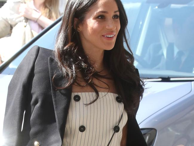 Meghan Markle has also worn an Australian designer for her engagement pictures. Picture: Chris Jackson/Getty Images.