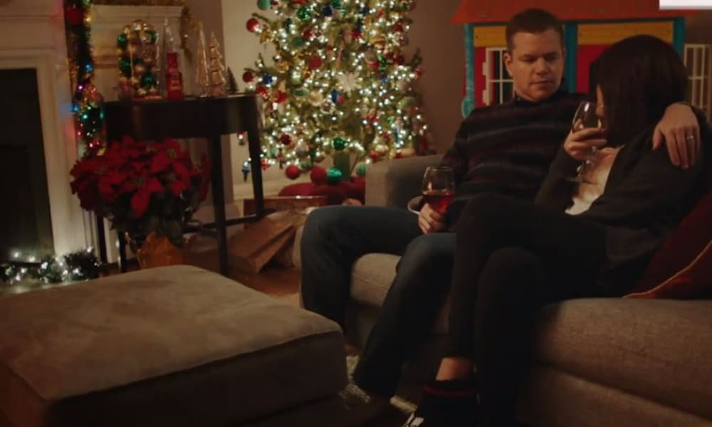 Matt Damon Snl Christmas.Matt Damon S Snl Christmas Sketch Captures A Parents