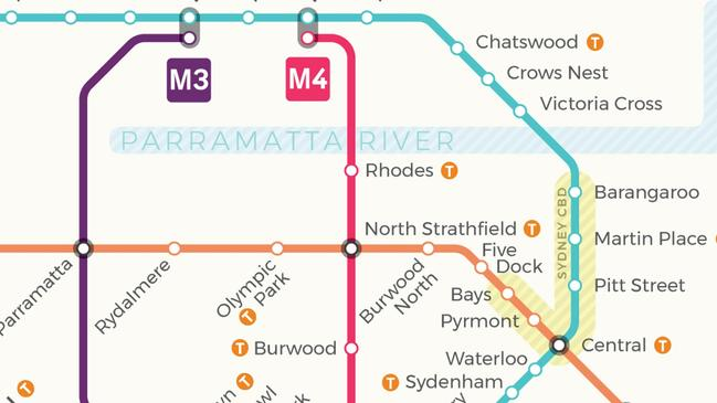 Sydney Trains: New Metro network map reveals 40 new stations