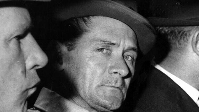 Ronald Ryan (C) was hanged in Pentridge prison, Melbourne in 1967 for the murder of a prison warder. Pic News Corp.