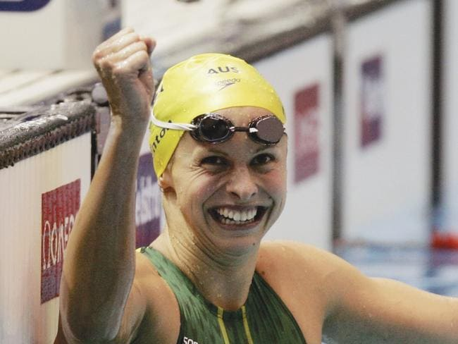 Libby Trickett is one of Australian swimming's greats.