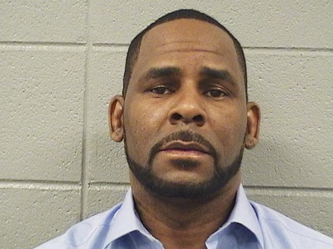 R Kelly's mugshot. The disgraced singer has threatened one of his alleged victims in a strongly-worded legal letter. Picture: AP