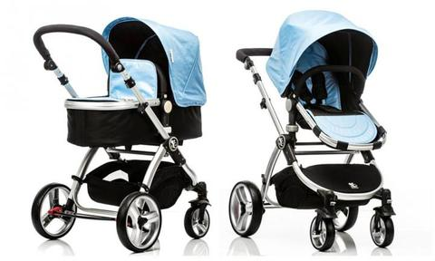"""SKY BLUE COMET - 2 IN 1 BASSINET & STROLLER SET: This lightweight, all-terrain travel system will take you from newborn to 36 months and last you through multiple children. Designed with safety, quality and style in mind, the Comet is ideal for urban living and weekend adventures.  <a href=""""http://babybeeprams.com.au/collections/bassinet/products/sky-blue-comet-2-in-1-bassinet-stroller-set?gclid=CJjuy9f4qckCFQQAvAodo_gCAQ"""">BUY IT HERE</a>"""