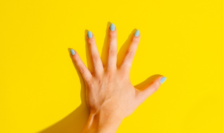Unprepared for the changes pregnancy would bring to her body, Jessica treated herself to a manicure. Image: iStock